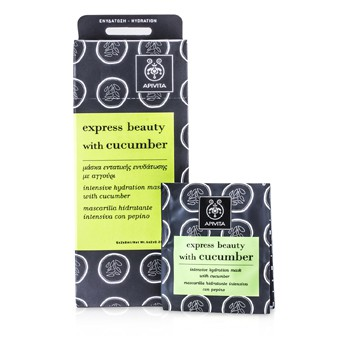 Apivita Express Beauty Intensive Hydration Mask with Cucumber