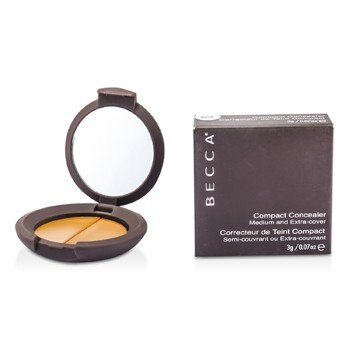 Becca Compact Concealer Medium Extra Cover - # Syrup