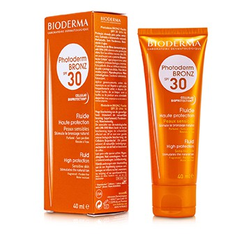 Bioderma Photoderm Bronz High Protection Sun Fluid SPF30 (For Sensitive Skin)