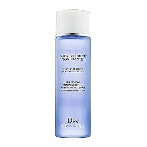 Christian Dior Purifying Toning Loiton with Crystal Iris Extract