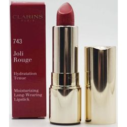 Clarins Joli Rouge Long-Wearing Moisturizing Lipstick 743 Cherry Red