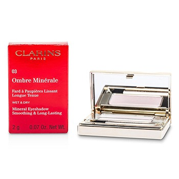 Clarins Ombre Minerale Smoothing Long Lasting Mineral Eyeshadow - # 03 Petal