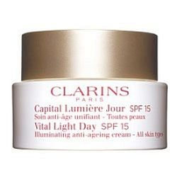 Clarins Vital Light Day Illuminating Anti-Ageing Cream SPF 15