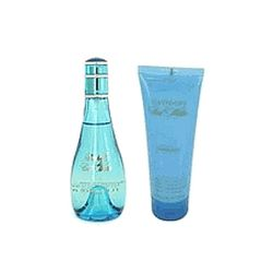 Cool Water by Davidoff for Women 2 Piece Set 3.4 oz Eau De Toilette EDT Spray + 2.5 oz Body Lotion