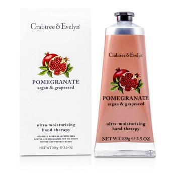 Crabtree & Evelyn Pomegranate, Argan Grapeseed Ultra-Moisturising Hand Therapy