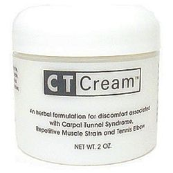 CT Cream Carpal Tunnel Cream for Pain Relief - Carpal Tunnel Syndrome , Arthritis, Tendonitis, Bursitis