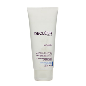 Decleor Aroma Cleanse 3 in 1 Hydra-Radiance Smoothing Cleansing Mousse