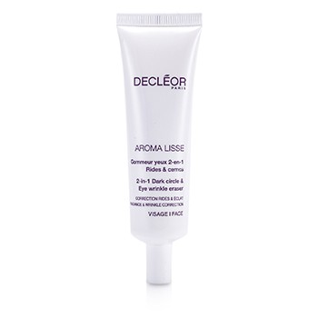 Decleor Aroma Lisse 2-in-1 Dark Circle Eye Wrinkle Eraser (Salon Size)