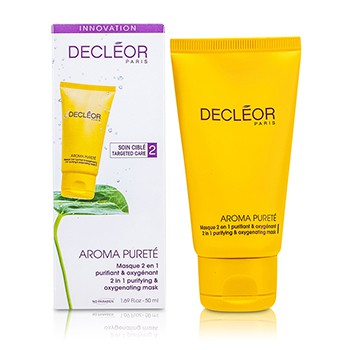 Decleor Aroma Purete 2 in 1 Purifying Oxygenating Mask (Combination Oily Skin)
