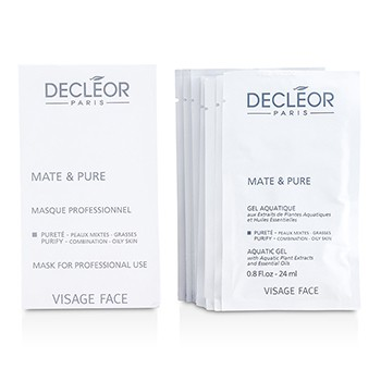 Decleor Mate Pure Mask Vegetal Powder - Combination to Oily Skin (Salon Size)