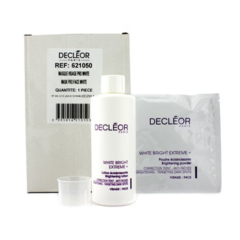 Decleor White Bright Extreme Set (Salon Size): Brightening Lotion + 5x Brightening Powder