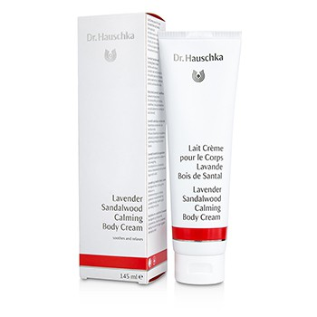 Dr. Hauschka Lavender Sandalwood Calming Body Cream - Soothes Relaxes