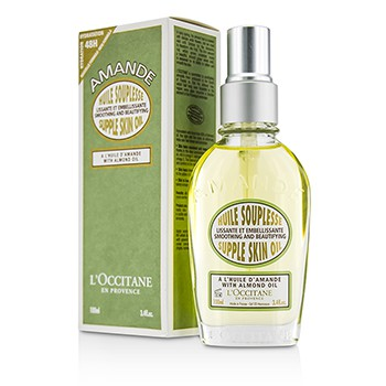 L'Occitane Almond Supple Skin Oil - Smoothing Beautifying