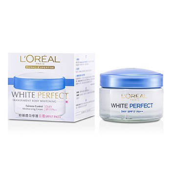 L'Oreal Dermo-Expertise White Perfect Fairness Control Moisturizing Cream Day SPF17 PA++