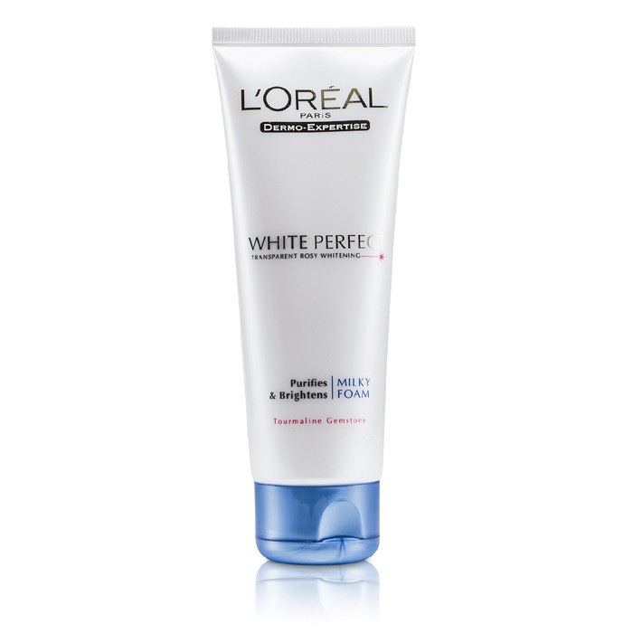L'Oreal Dermo-Expertise White Perfect Purifies Brightness Milky Foam