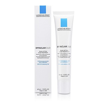 La Roche Posay Effaclar Duo Dual Action Acne Treatment