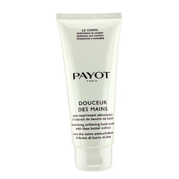 Payot Le Corps Douceur Des Mains Nourishing Softening Hand Cream With Shea Butter Extract  (Salon Size)