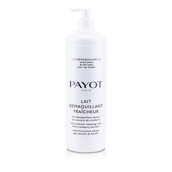 Payot Les Demaquillantes Lait Demaquillant Fraicheur Silky-Smooth Cleansing Milk - For All Skin Types (Salon Size)