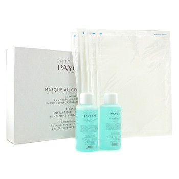 Payot Masque Au Collagene Set: 2x Soothing Lotion 200ml + 10x Collagen Sheet (Salon Size)
