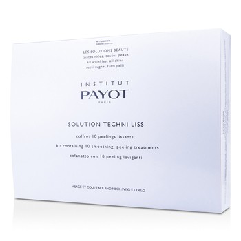 Payot Solution Techni Liss - Smoothing Peeling Treatments For Face Neck (Salon Product)