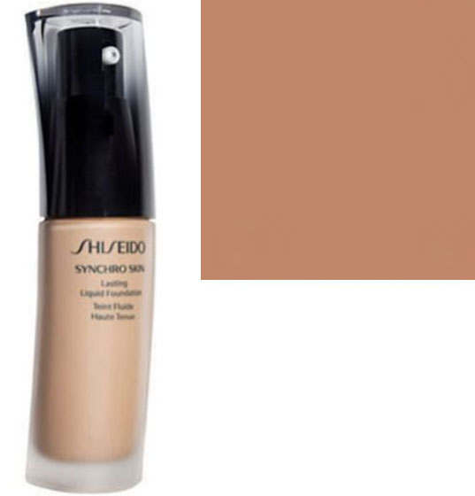 Shiseido Synchro Skin Lasting Liquid Foundation Oil Free SPF 20 Neutral 4