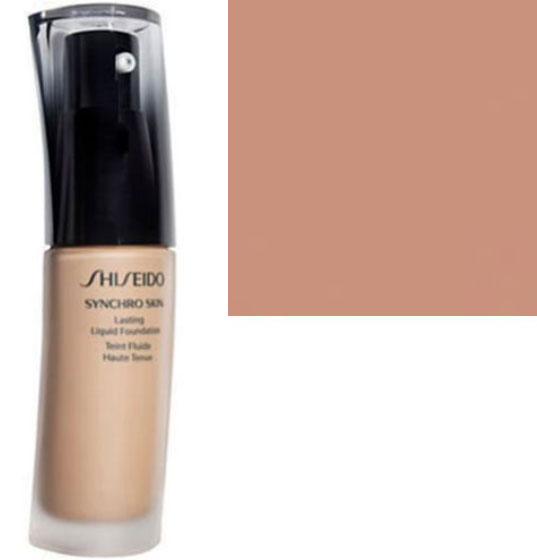 Shiseido Synchro Skin Lasting Liquid Foundation Oil Free SPF 20 Rose 3