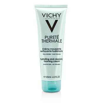 Vichy Purete Thermale Hydrating And Cleansing Foaming Cream - For Sensitive Skin