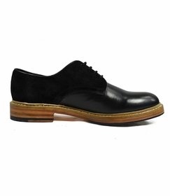 Black Men's Leather Shoes by Paul Malone