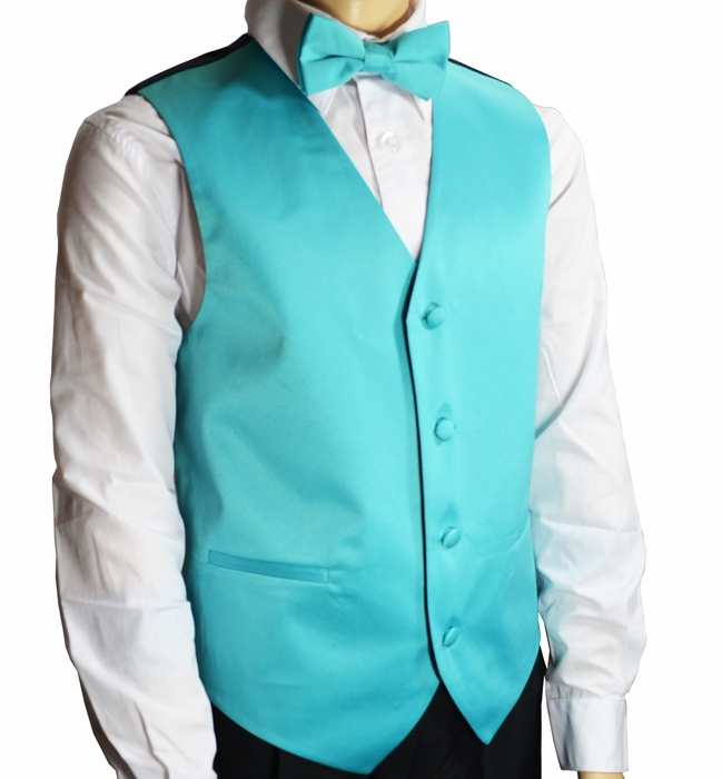 Mens Vests, Tuxedo Vests with Necktie, Wedding Vests for Men
