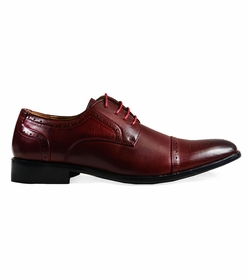 Classic Cap-toe Oxford in Burgundy