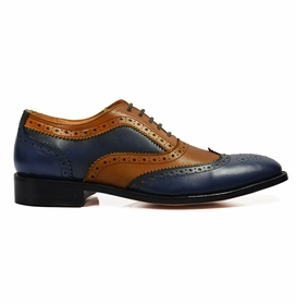 Full Leather Brogue Oxfords by Paul Malone