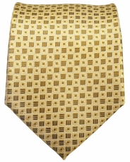 Gold Men's Necktie