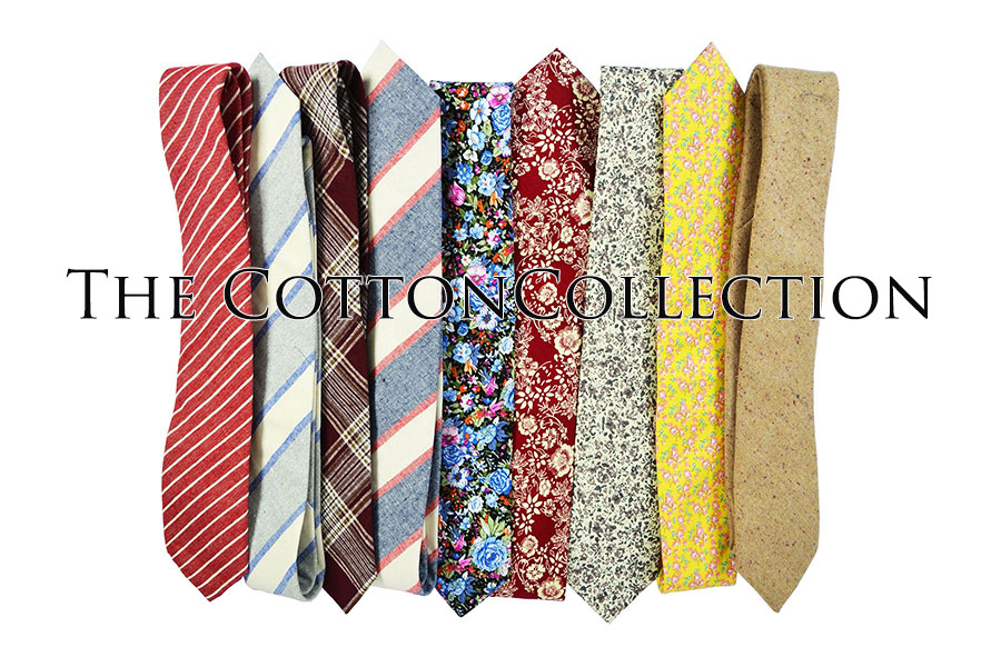 Paul Malone Cotton Ties