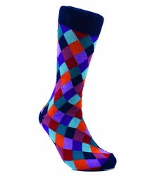 Men's Cotton Dress Socks by Paul Malone