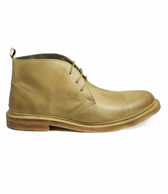 Men's Leather Boots by Paul Malone . Antique Cheeku
