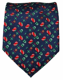 Paul Malone Holiday Theme Tie (Presents)