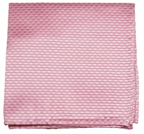 Pink Mens Silk Handkerchief (H501)