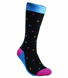 Polka Dotted Men's Socks by Paul Malone