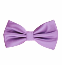 Purple Bow Tie and Pocket Square Set (BT100-AA)