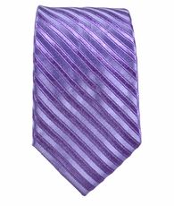Purple Boys Tie by Paul Malone . 100% Silk