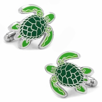 Sea Tortoise Cufflinks