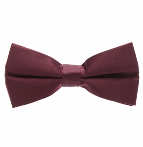 Solid Barn Red Bow Tie (BT10-TT)