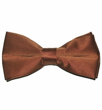 Solid Brown Bow Tie (BT10-ii)