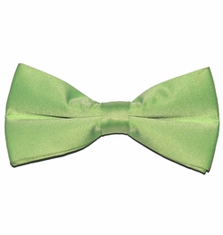 Solid Light Green Bow Tie (BT10-HH)