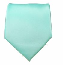 Solid Moonlight Jade Boys Zipper Tie