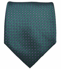 Teal and Purple Men's Tie