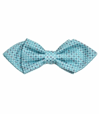 Turquoise Silk Bow Tie by Paul Malone Red Line
