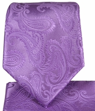 Viola Paisley Tie and Square by Paul Malone