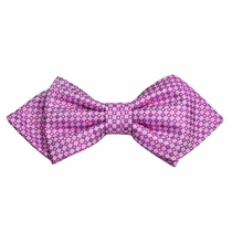 Vivid Viola Silk Bow Tie by Paul Malone Red Line