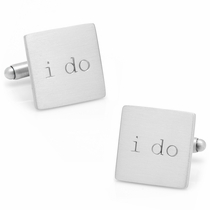 Wedding Series I Do Cufflinks